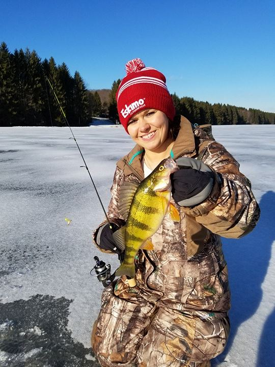 1/2/17 Tioga County Ice Fishing Report